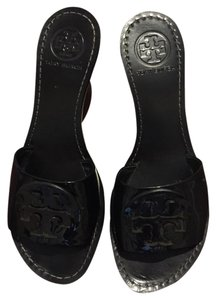 Tory Burch Sandals Black Mules