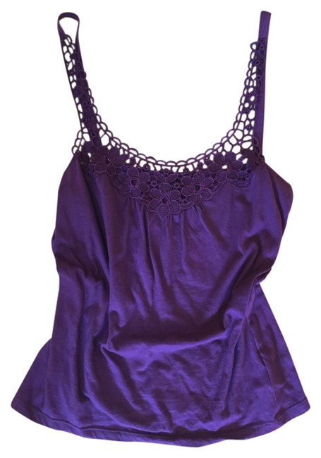 Preload https://img-static.tradesy.com/item/2117067/topshop-purple-floral-strappy-tank-topcami-size-12-l-0-0-650-650.jpg
