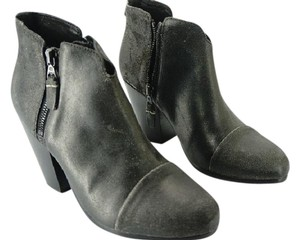 Rag & Bone And Margot Suede Charcoal Boots