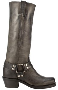 Frye Harness Harness 15r Leather Classic Charcoal Boots