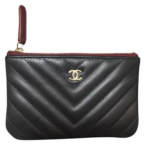 Chanel Chanel chevron mini o case / wallet