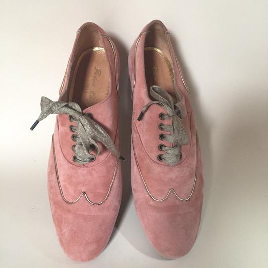 Robert Clergerie peach/gold Flats Image 3