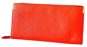 Poppie Jones Red Zipper Wallet