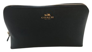 Coach Coach XGrain Cosmetic Case 17 SM Travel Pouch Leather Bag