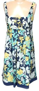 BCBGMAXAZRIA short dress Sleeveless Floral Silk Tank on Tradesy
