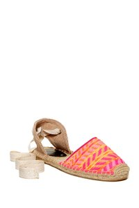 Soludos Hot pink multi Flats
