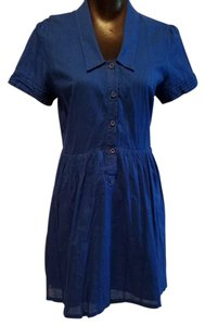 Urban Outfitters short dress Blue Shirt Uo Cooperative on Tradesy