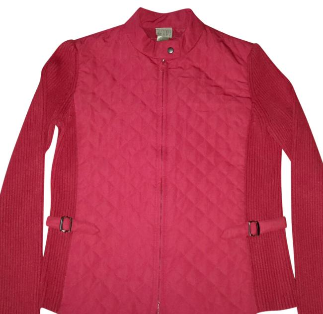 Item - Red Light Weight Jacket Size Petite 4 (S)