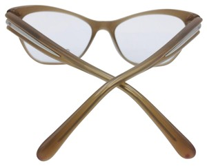 Chanel Cat Eye Tan Everyday Wear Chanel Eyeglasses 3307 c.1416 53