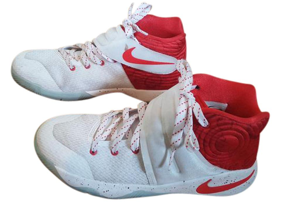 the best attitude 5a149 3492c Nike White & Red Kyrie Irving 2 (Kids) Sneakers Size US 5.5 Regular (M, B)