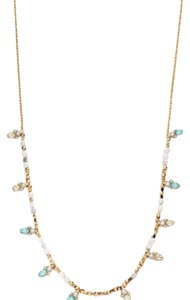 Alexis Bittar Gold crystal station necklace