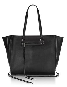 Rebecca Minkoff Laptop Work Carryall Regan Tote in Black