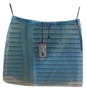 Miu Miu Mini Skirt blue