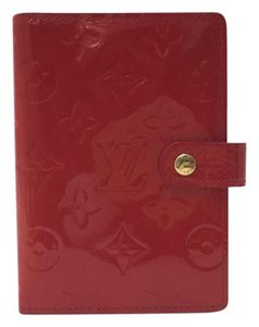 Louis Vuitton Louis Vuitton Red Enamel Notebook/Organizer/Planner Cover