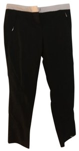 New York & Company Trouser Pants Black and white
