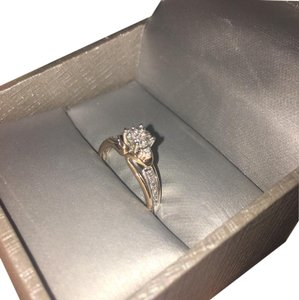 Zales rose gold promise ring