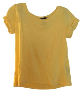 H&M T Shirt Yellow