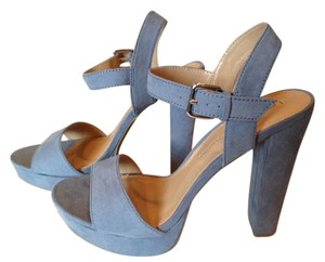 LC Lauren Conrad Blue Platforms