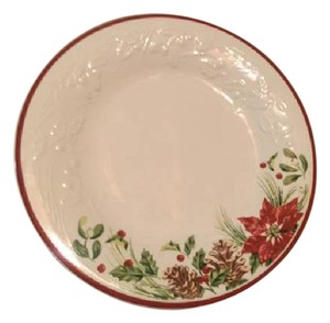 Longaberger Holiday Lunch Plate