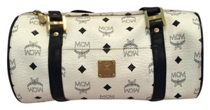 MCM Cross Body Papillon Barrel Shoulder Bag