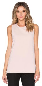 Theory Parleom Sleeveless Size Xs Light Pink Top