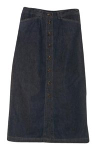 Jones New York Maxi Skirt Blue