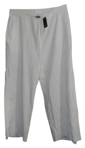 Tahari Capri/Cropped Pants Off White