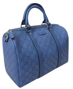 Gucci Monogram Tote in Blue