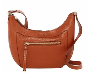 Furla Ginerva Hobo Bannana Travel Tan Cross Body Bag