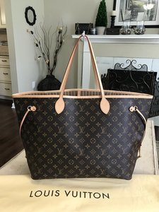 Louis Vuitton Neverfull Totes Handbags Wallets Shoulder Bag