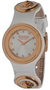 Versace NEW WOMENS VERSUS BY VERSACE (SCG060016) CARNABY STREET LEATHER WATCH