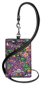 Coach Coach LANYARD ID IN ROSE MEADOW FLORAL Leather PVC F 57990 63274
