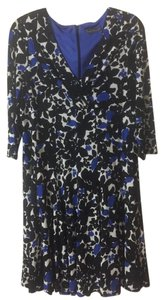 Jessica Howard short dress Black/Royal on Tradesy
