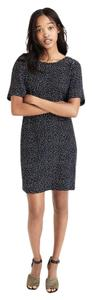 Madewell short dress dark navy and white dot on Tradesy