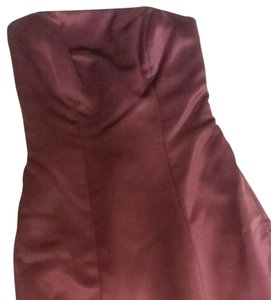 Belsoie Burgundy Belsoie Dress