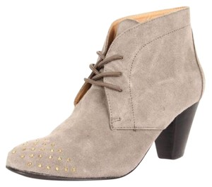 Marais USA Rhinestone Leather Suede Gray Boots