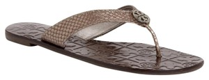 Tory Burch Pewter Sandals