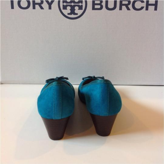Tory Burch Turquoise Wedges