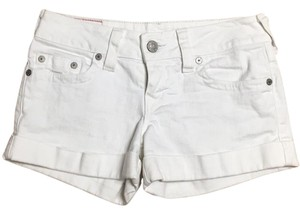 True Religion Mini/Short Shorts White