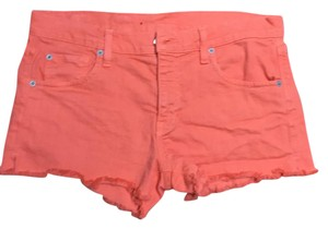 Other Cut Off Shorts Coral