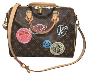 Louis Vuitton World Tour World Tour Speedy Speedy 30 Speedy Limited Edition Cross Body Bag