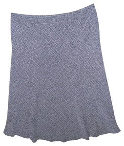 JM Collection Maxi Skirt Gray