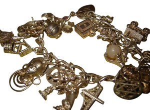 Other Charm Bracelet Loaded with 24 Charms