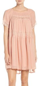 French Connection short dress BALLET BLUSH on Tradesy