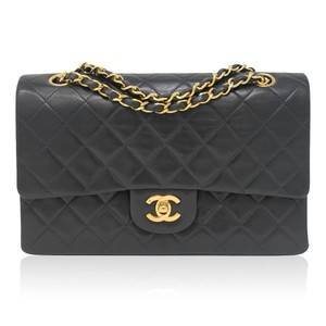Chanel Lambskin Classic Flap Vintage Shoulder Bag