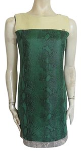 Armani Jeans short dress green on Tradesy