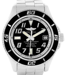 Breitling Breitling Superocean 42 Abyss Black Dial Steel Mens Watch A17364