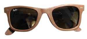 Ray-Ban Ray-Ban Wayfarer Leather in Bronze Copper