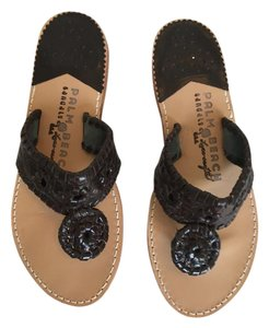 Jack Rogers Like New Classic Palm Beach brown Sandals