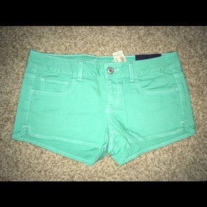 American Eagle Outfitters Mini/Short Shorts turquoise